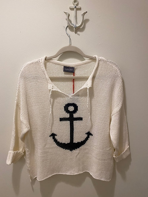 Wooden Ships Anchor Sweater