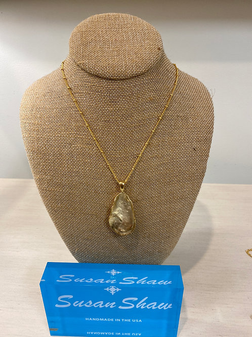 Susan Shaw Oyster Necklace