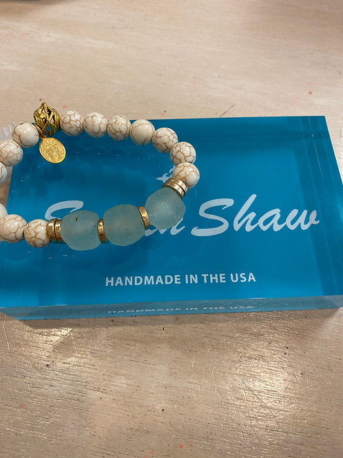 Susan Shaw Seaglass Bracelet