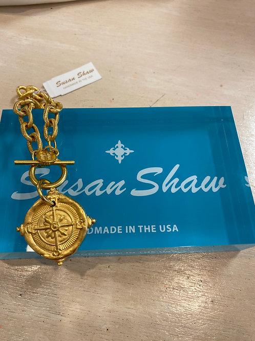 Susan Shaw Compass Necklace