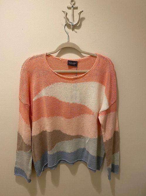 Wooden Ships Mulitcolored Sweater