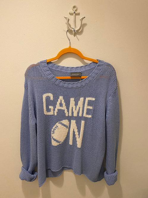 Wooden Ships Game On Sweater