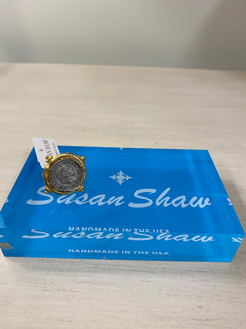 Susan Shaw Silver Coin Ring