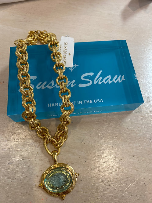 Susan Shaw Stone Necklace