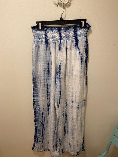 Bella Dahl Tie Dye Linen Pants