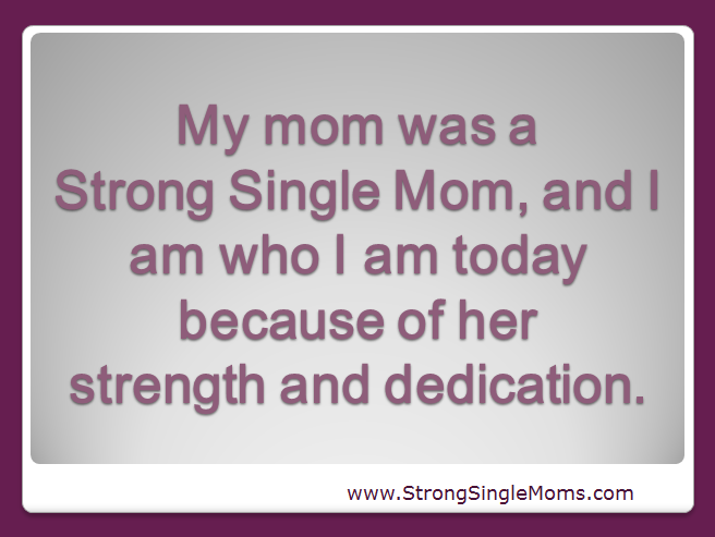 Welcome to The Single Mom's Blog
