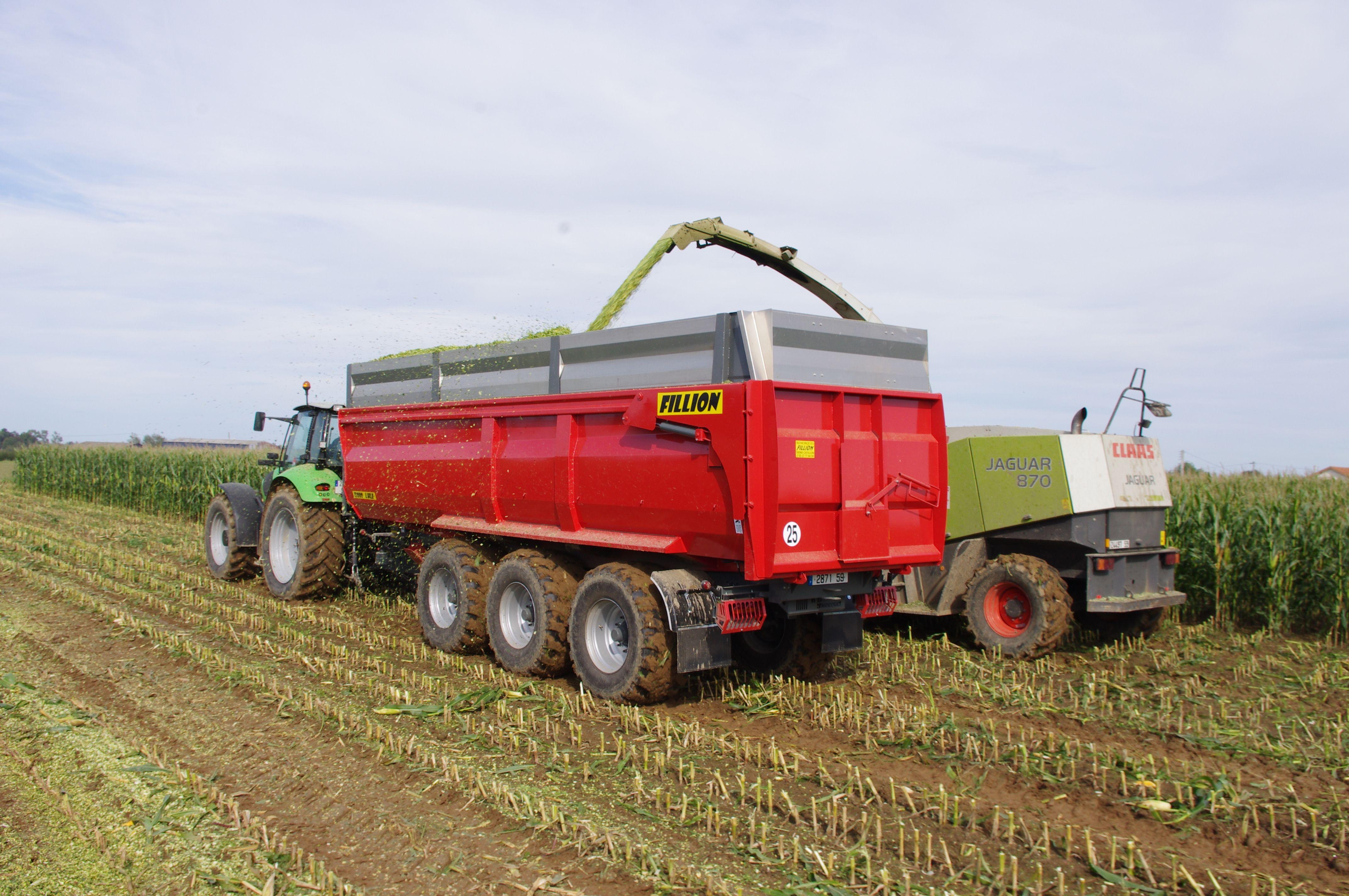 Remorque agricole Fillion 2