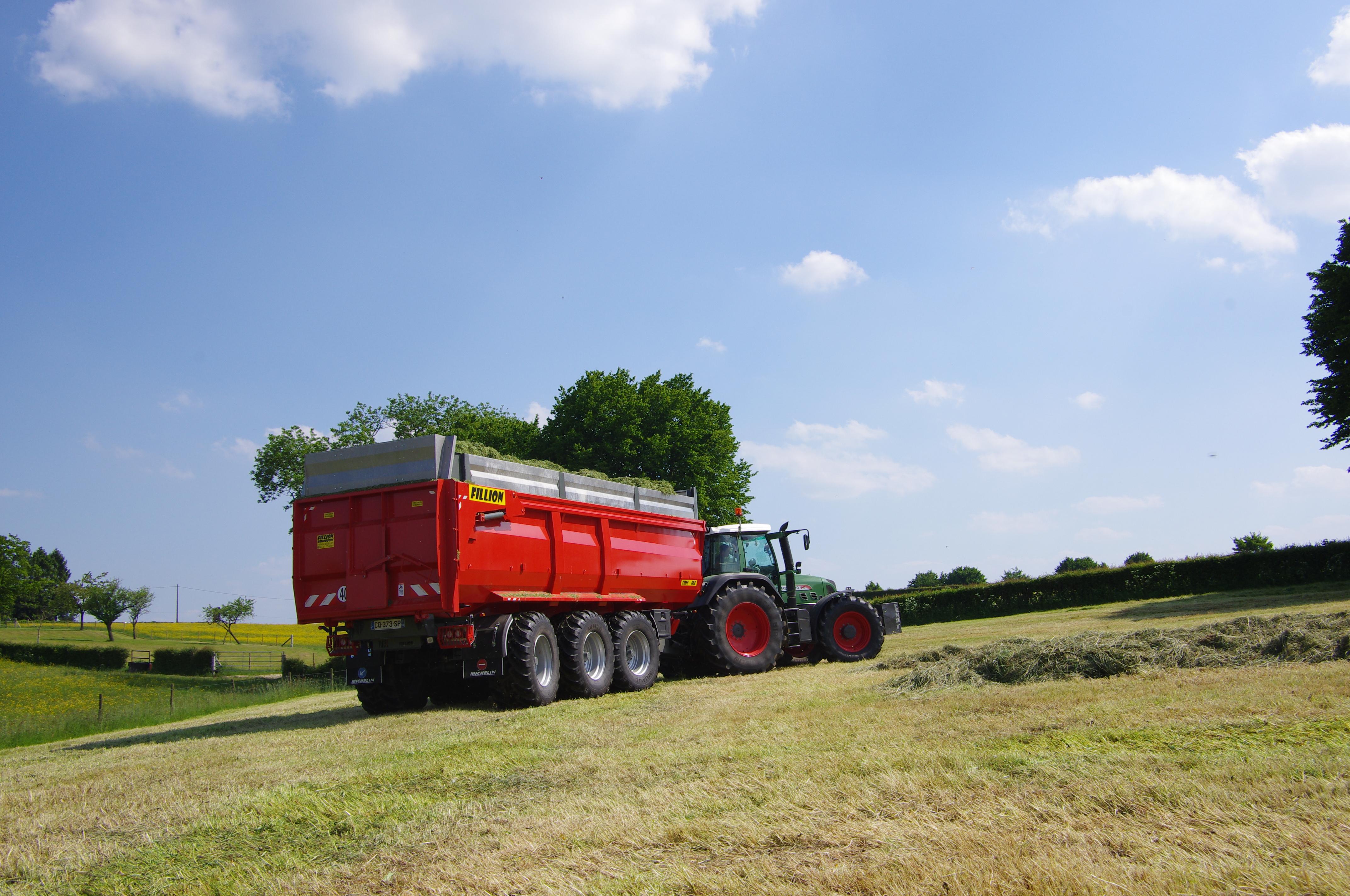 Benne agricole FILLION REMORQUES 11