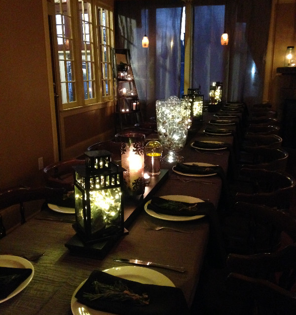 Long tables… more than just an aesthetic