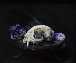 Martin Woodhead, Cat Skull and Amethyst
