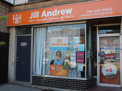 Messages from MPP Jill Andrew