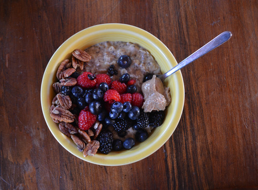The Best Oatmeal, and how to survive the end of winter