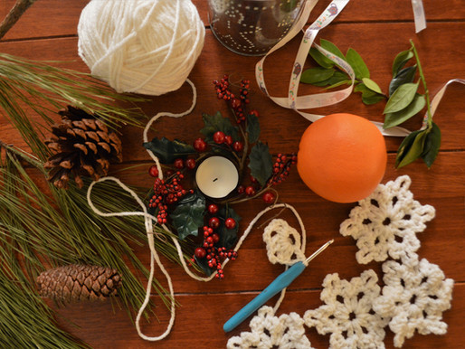 Podcast 11: Homemade Christmas: simple touches for the home