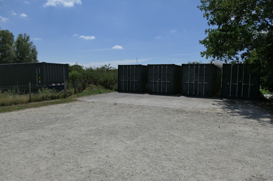 Turning Area & Storage Containers - 15 June 20