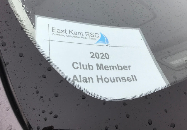 Members Car Identification Sign