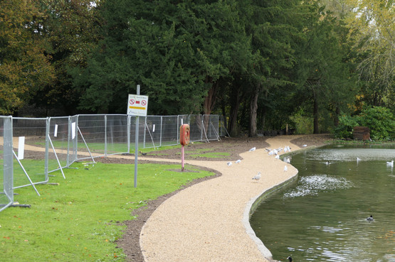 Boating Lake North Side Path 2 - 24 October 20