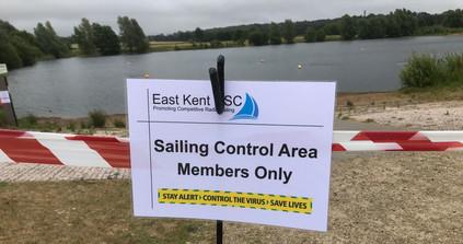 Members Sailing Control Area