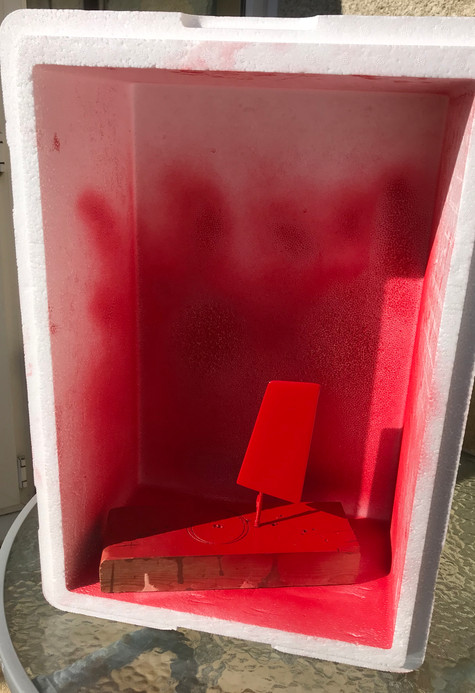 Temporary Spray Booth
