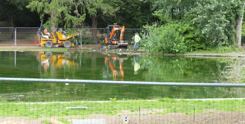 Work Begins North Side - 1 July 20