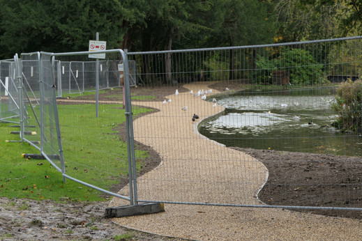 Boating Lake North Side Path 3 - 24 October 20