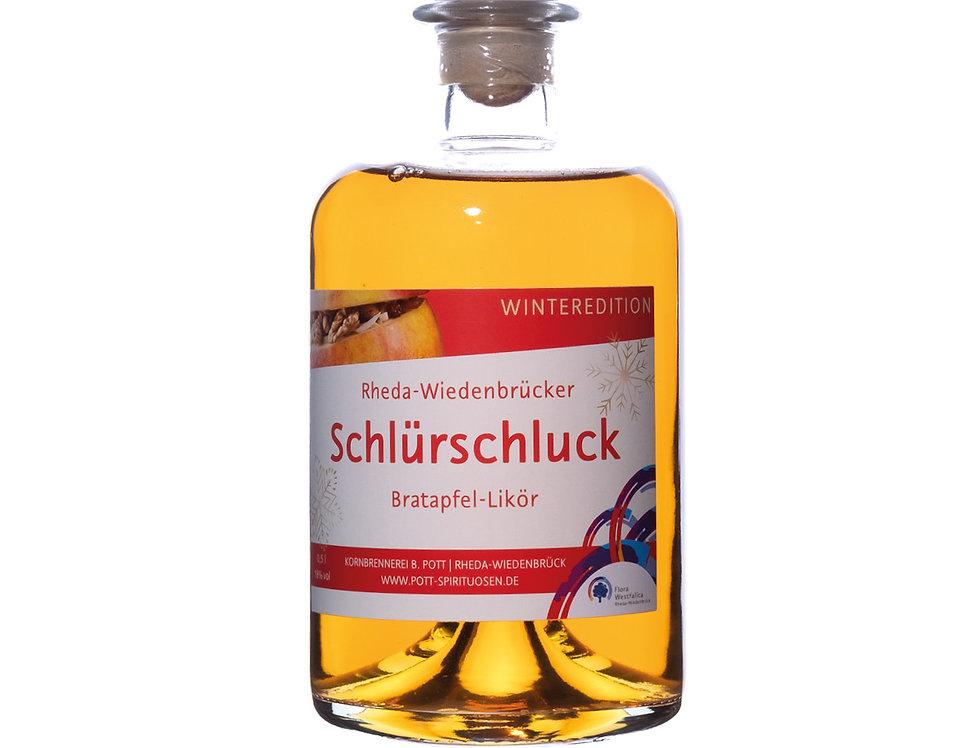 Schlürschluck Bratapfel