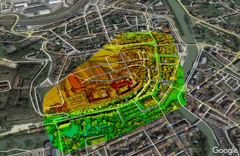 Altimétrie & carthographie par drone