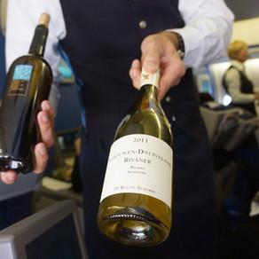 Condé Nast Traveler List of Top Airline Wine Lists