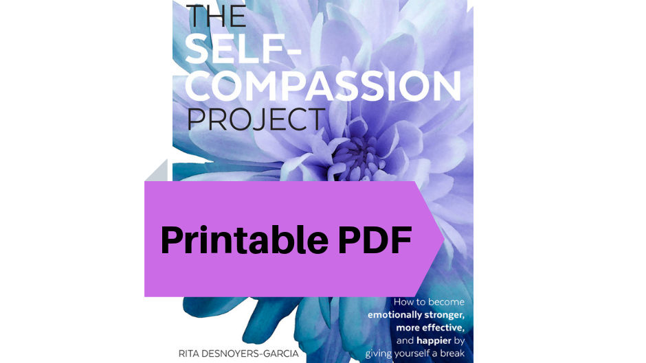 Downloadable PDF of The Self-Compassion Project