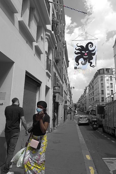 """Juillet 2021 - """" Le Soleil Noir de Calder """"   crédit photos ;  © Dominique Jouxtel"""