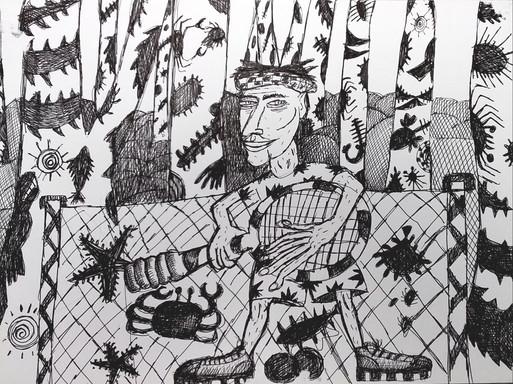 """1989 """"Toiles de Korhogo """""""