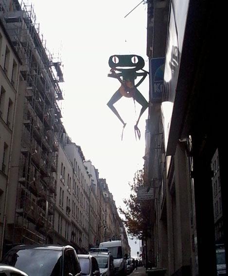 """ La grenouille dulendemain """