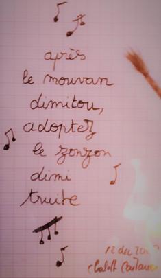"""Décembre 2013 // dis mi """"truite"""""""