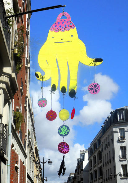 """ Fatma qui jongle ..."