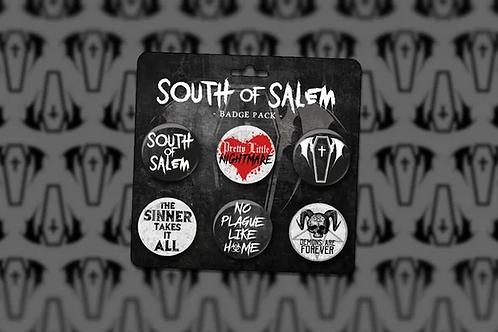 South of Salem Badge Set
