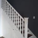 Escadas para nível superior.