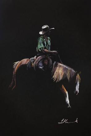 Hang Loose by western artist Libby Humen