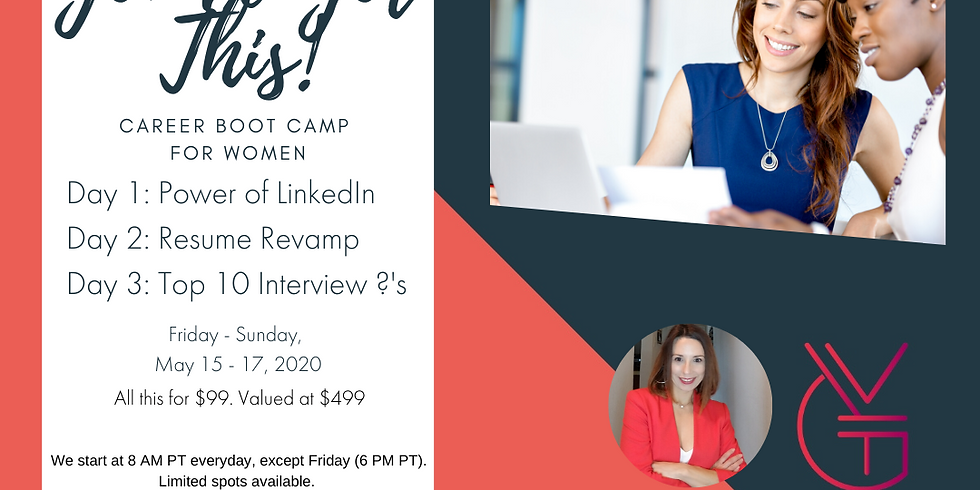 You've Got This! Career Boot Camp for Women
