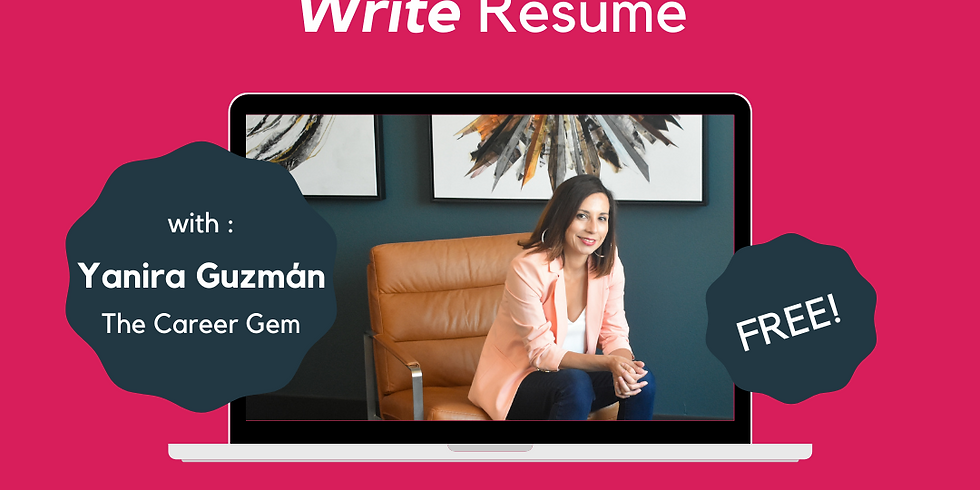 Líderes! How to Select the Write Resume