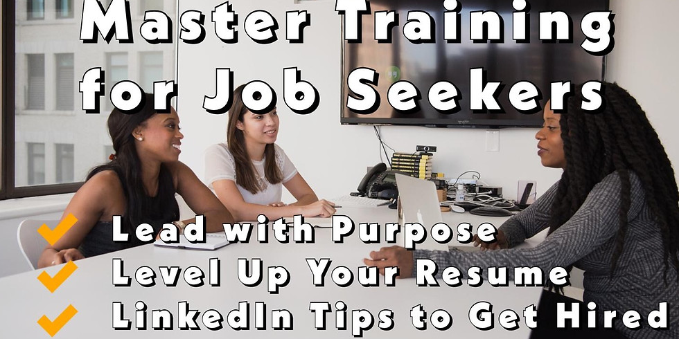 Master Training for Job Seekers