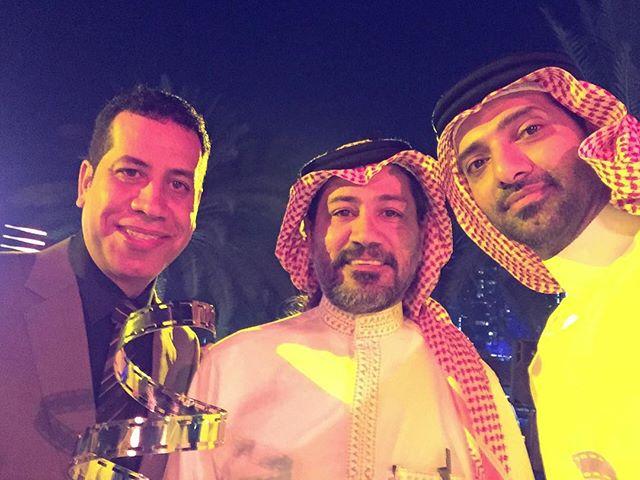 من #مهرجان_السينما_الخليجي  ابو مالك أحمد الملا والجميل الفنان سعيد قريش #سينما #abudhabi #افلام #صو