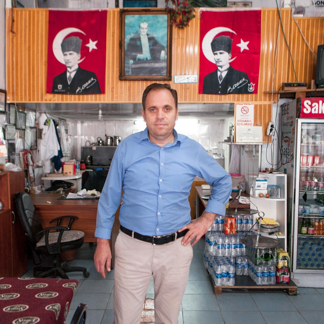 "İbrahim Çetiner - ""Mahallenin simgesiyim"""