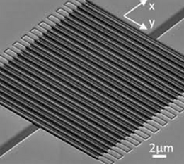 34. Giant electro-optical effect through electrostriction in a nano-mechanical metamaterial