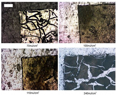 3. Laser-induced forward transfer of intact chalcogenide thin films: resultant morphology and thermoelectric properties