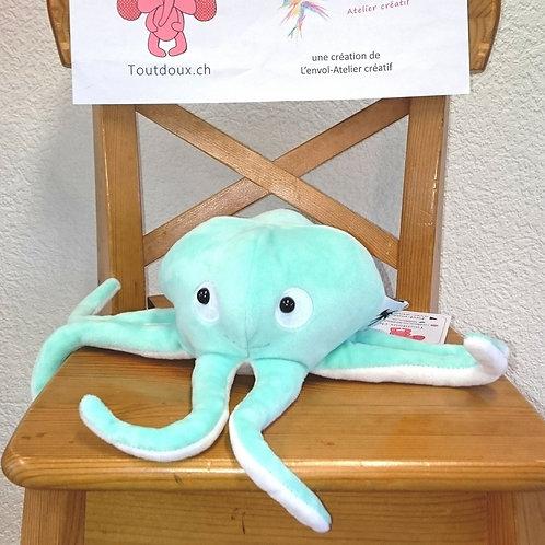 Poulpe bébé avec tentacules - menthe à l'eau