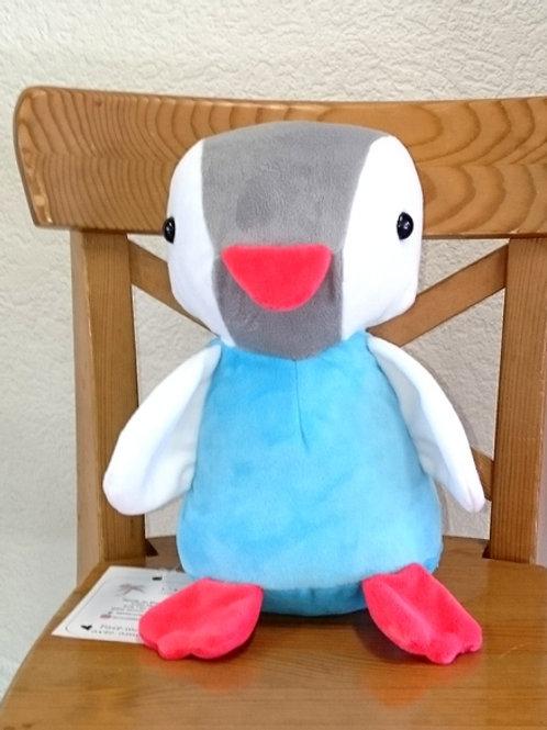 Pingouin maman - turquoise