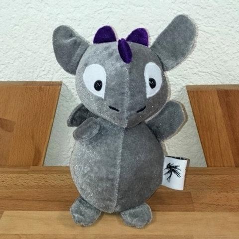 Dragon bébé - gris