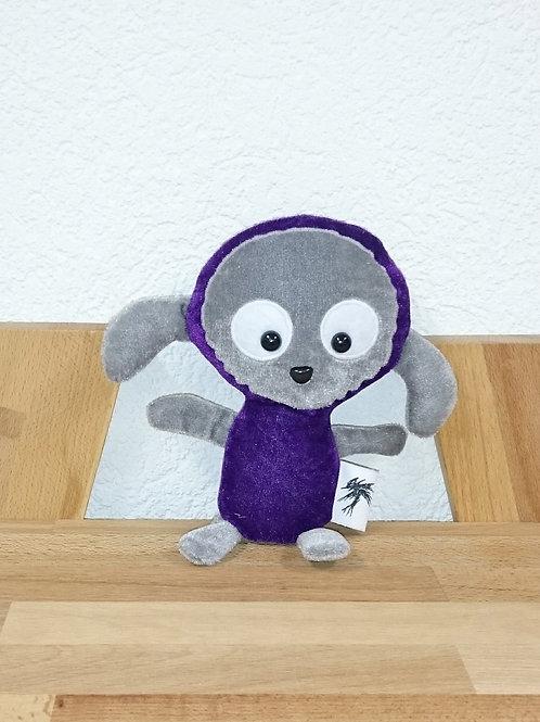 Mouton bébé - violet-gris