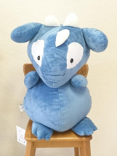 Dragon grand-maman - bleu pétrole