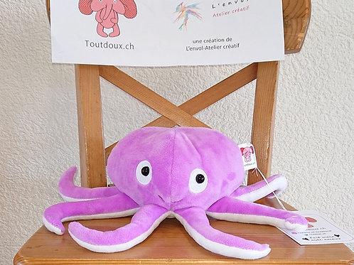 Poulpe bébé avec tentacules - lilla