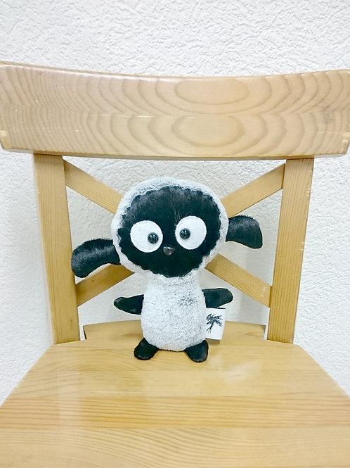Mouton bébé - gris-noir